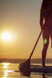 Stand Up Paddle Tour am Neusiedler See